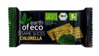 SEZAMKI Z CHLORELLĄ BEZGLUTENOWE BIO 18 g - EARTH OF ECO