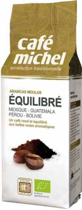 Kawa mielona arabica premium equilibre FAIR TRADE BIO 250 g - CAFE MICHEL