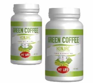 GREEN COFFEE+KONJAC 100 tabl. My Life