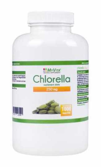 Chlorella 250mg 1000 tabletek MyVita