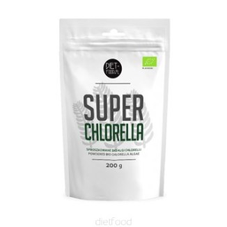 BIO CHLORELLA proszek DIET-FOOD 200g
