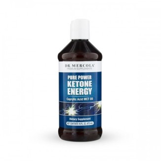 Dr Mercola - Ketone Energy MCT Oil - Kwas kaprylowy (473 ml)