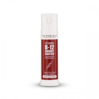 Witamina B12 Energy Booster - metylokobalamina dr Mercola (25 ml)